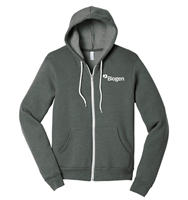 Picture of Full Zip Hoodie - Unisex - Grey